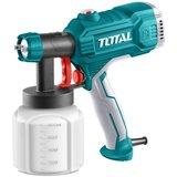 TOTAL - Pistol de vopsit - 350W - 800ml (INDUSTRIAL)